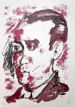 Serigrafia Lüpertz - Federico Garcia Lorca