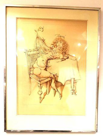 Litografia Bellmer - Femme