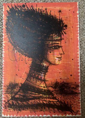 Litografia Carzou - Femme