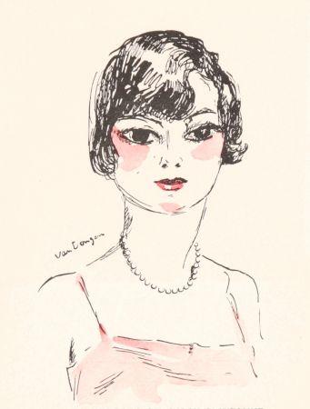 Litografia Van Dongen - Femme- Salon D'Automne, 11929