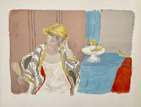 Litografia Brianchon - Femme a sa Toilette