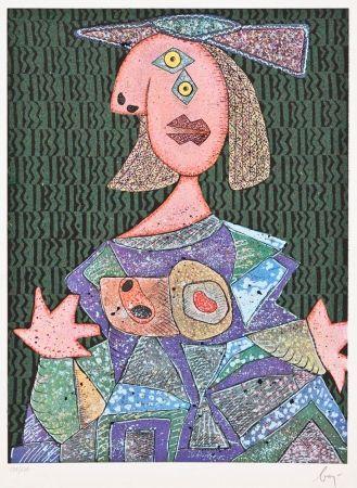 Multiplo Baj - Femme Assise