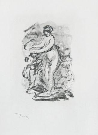 Non Tecnico Renoir - Femme au cep de vigne, I Variante (Woman by the Grapevine, First Variant)
