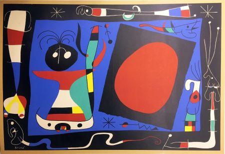 Litografia Miró - FEMME AU MIROIR (1956)