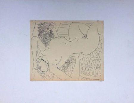 Non Tecnico Matisse - Femme Nue Allongée
