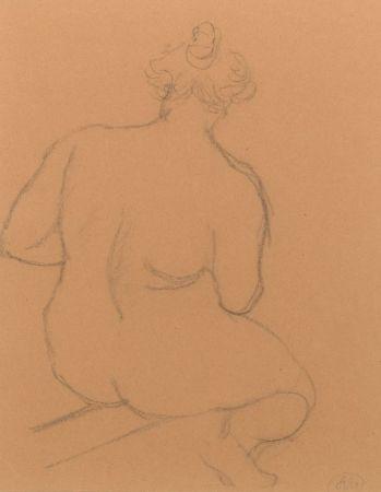 Non Tecnico Maillol - Femme nue de dos, accroupie