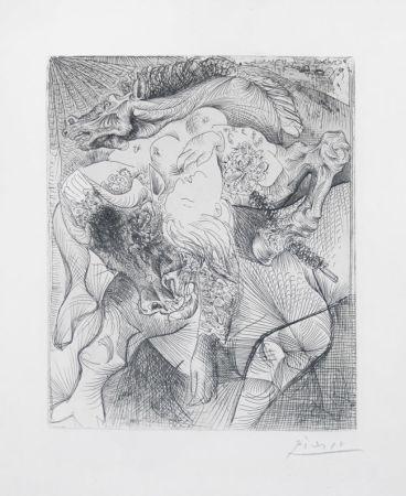 Incisione Picasso - Femme torero II