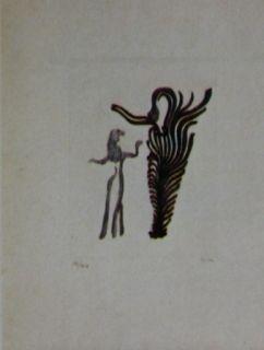Acquaforte E Acquatinta Fenosa - Femmes arbres