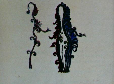 Litografia Fenosa - Femmes fleurs