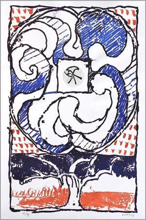 Litografia Alechinsky - Fenêtre