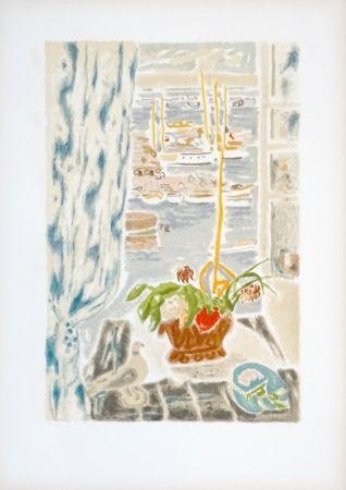 Litografia Cavailles - Fenêtre grise
