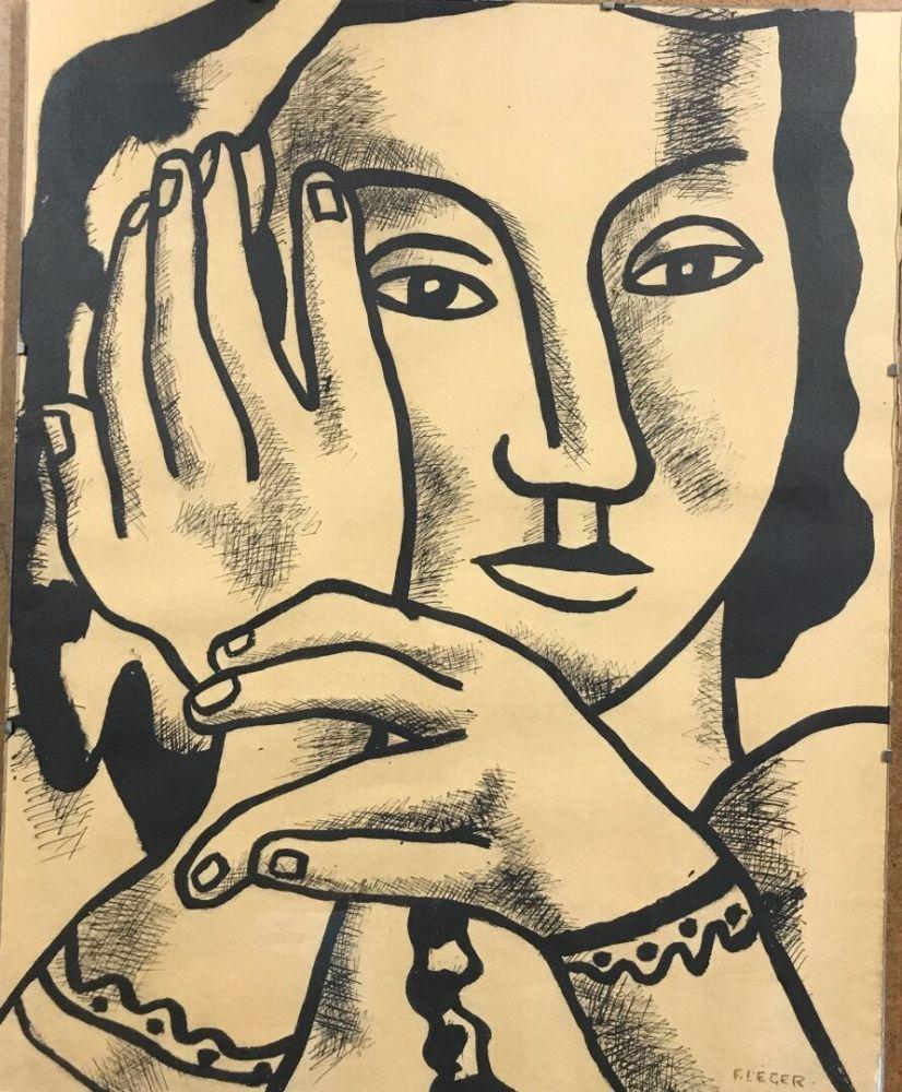 Multiplo Leger - Fernand Léger (1881-1955). et Louis Aragon (1897-1982).