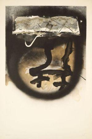Litografia Tàpies - FIAC 1983