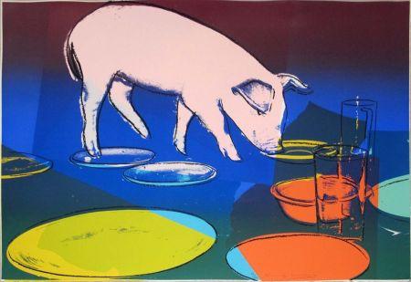 Serigrafia Warhol - FIESTA PIG FS II.184