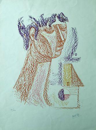 Litografia Tozzi - Figura