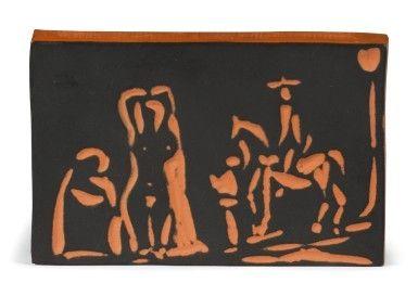 Ceramica Picasso - Figure and Cavalier