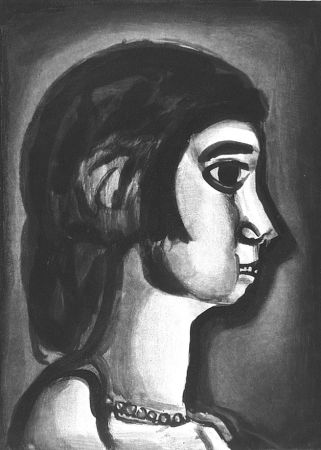 Acquaforte E Acquatinta Rouault - Fille dite de joie