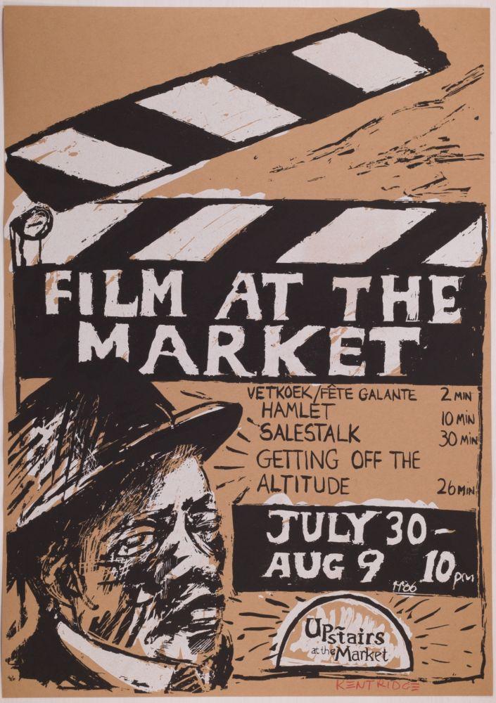 Serigrafia Kentridge - Film at the Market