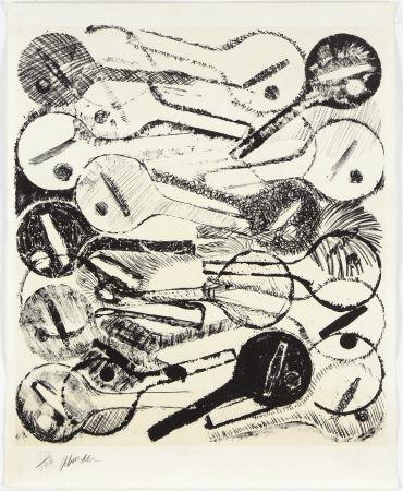 Litografia Arman - Filtres À Air, 1969