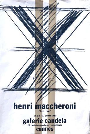 Litografia Maccheroni - First Time  Galerie Candela Cannes