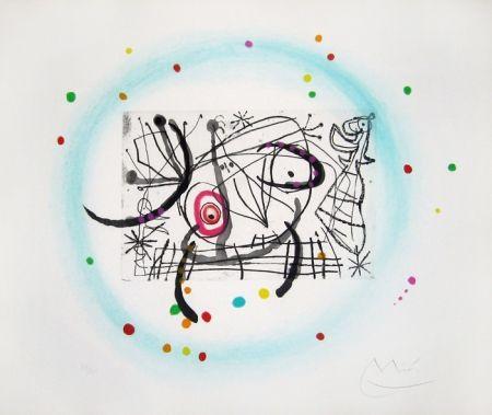 Acquaforte E Acquatinta Miró - Fissures