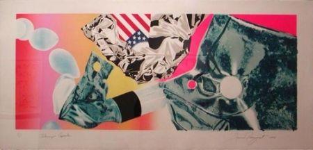 Serigrafia Rosenquist - Flamingo Capsule