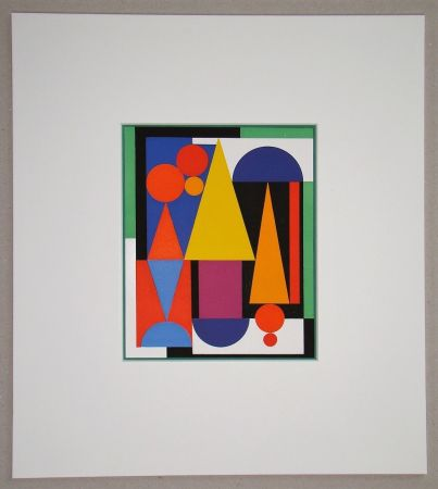 Serigrafia Herbin - Fleur fruit - 1945