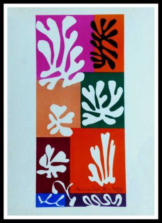 Litografia Matisse (After) - FLEURS DE NEIGNE