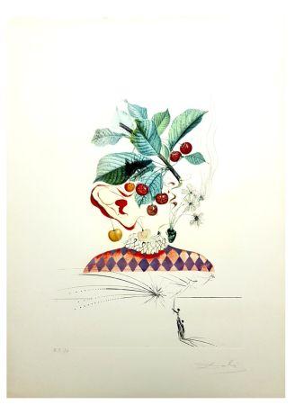 Litografia Dali - Flordali - Cerises