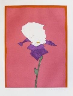 Incisione Scholder - Flower At Giverney 1