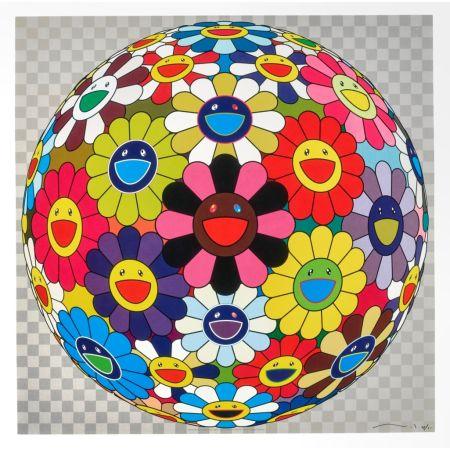 Litografia Murakami - Flower Ball (Kindergarten Days)