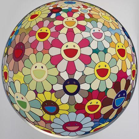 Serigrafia Murakami - Flower Ball Margaret (3D)