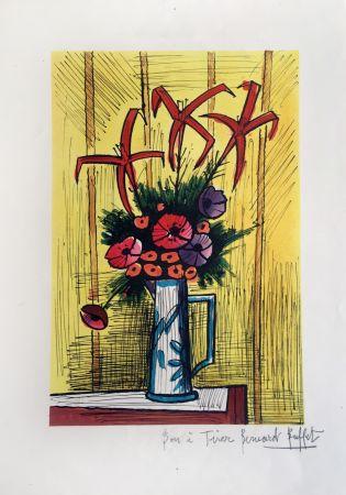 Litografia Buffet - Flower Bouquet
