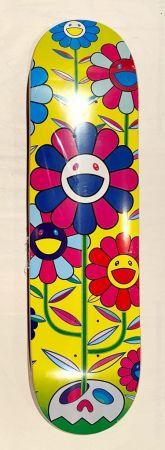 Serigrafia Murakami - Flower Cluster Skate Deck