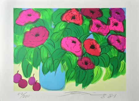 Litografia Ting - Flowers