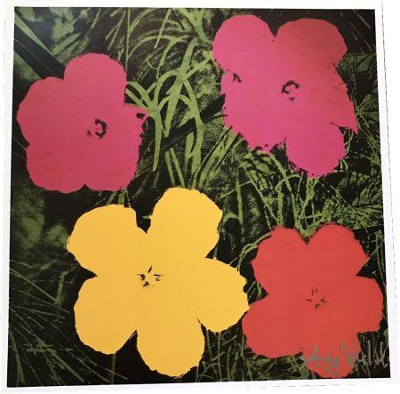 Libro Illustrato Warhol - Flowers