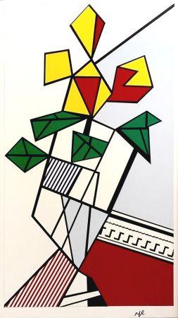 Serigrafia Lichtenstein - Flowers