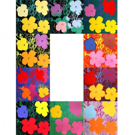 Serigrafia Warhol (After) - Flowers - Portfolio