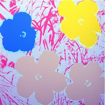 Serigrafia Warhol (After) - Flowers (by Sunday B. Morning)