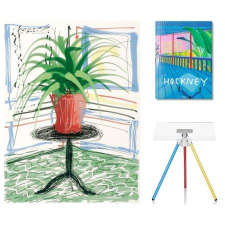 Multiplo Hockney - Flowers, C with SUMO book