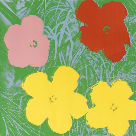 Serigrafia Warhol - Flowers (FS II.65)