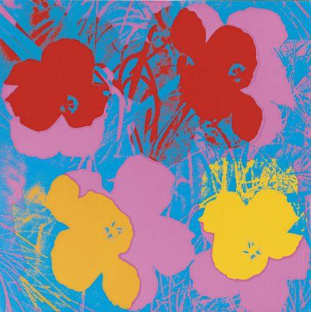 Serigrafia Warhol - Flowers (FS II.66)