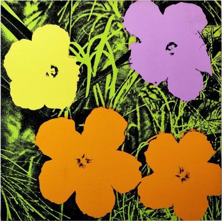 Serigrafia Warhol - Flowers (FS II.67)