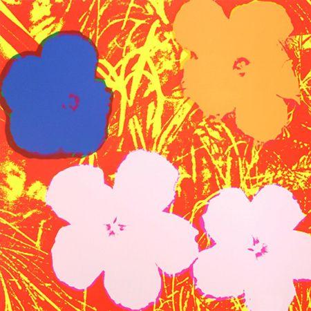 Serigrafia Warhol - Flowers (FS II.69)