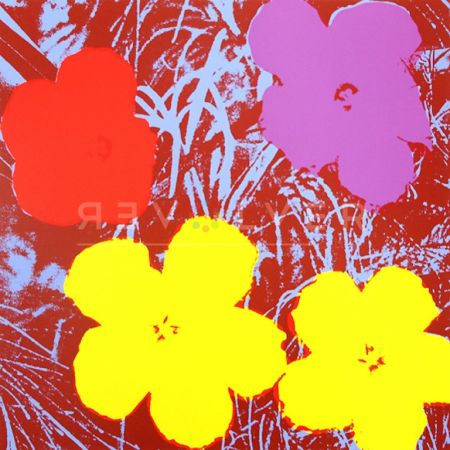 Serigrafia Warhol - Flowers (FS II.71)