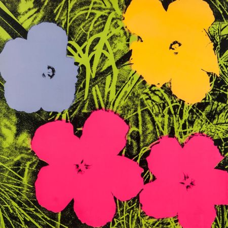 Serigrafia Warhol - Flowers (FS II.73)