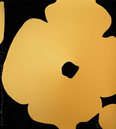 Serigrafia Sultan - Flowers (GOLD)