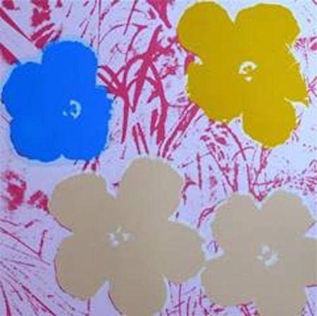 Serigrafia Warhol (After) - Flowers Ii