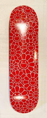 Serigrafia Murakami - Flowers Skate Deck