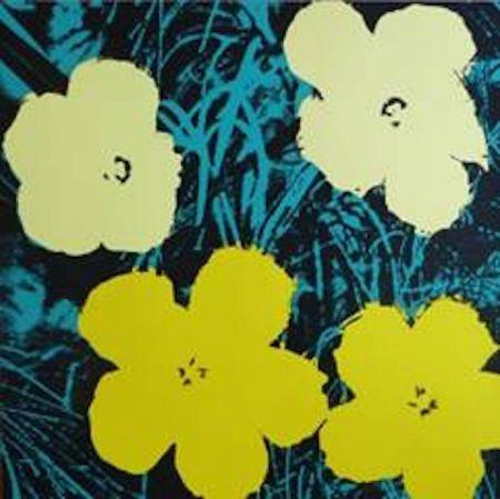 Serigrafia Warhol (After) - Flowers Vii